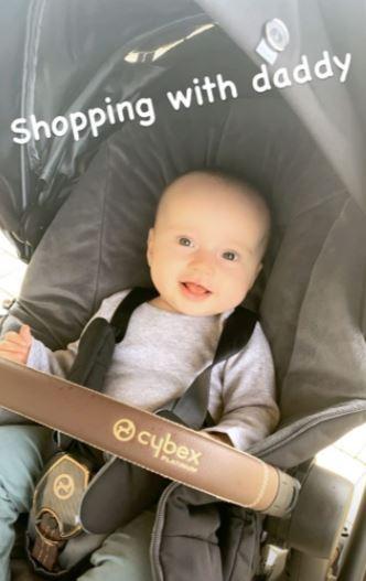 James Jordan baby Ella