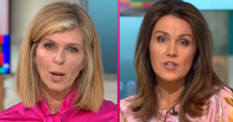 Kate Garraway and Susanna Reid on GMB