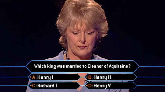 Judith Keppel, Who Wants To Be A Millionaire