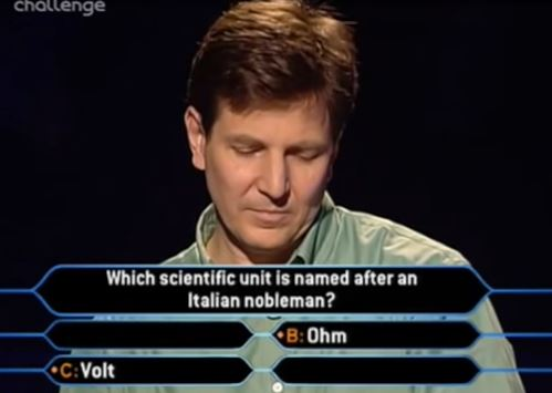 Robert Brydges, Who Wants To Be A Millionaire