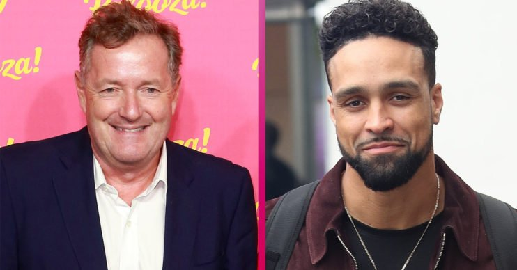 Piers morgan Ashley Banjo