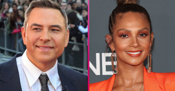 BGt David Walliams Alesha Dixon