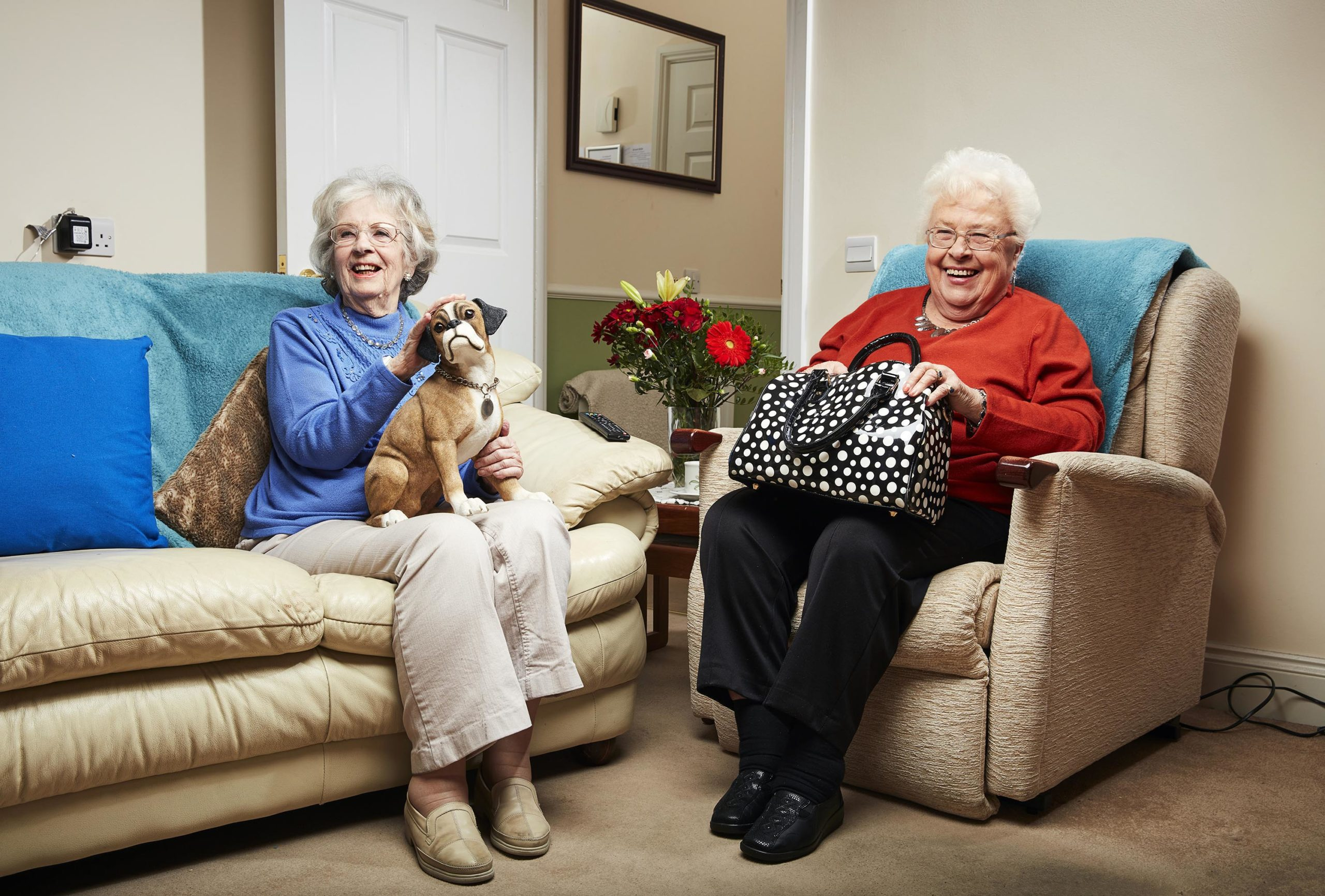 Googlebox viewers were thrilled to see Mary and Marina return