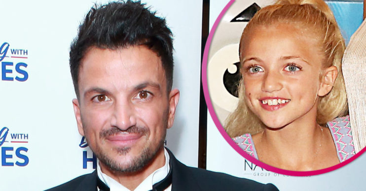 Peter Andre and daughter Princess