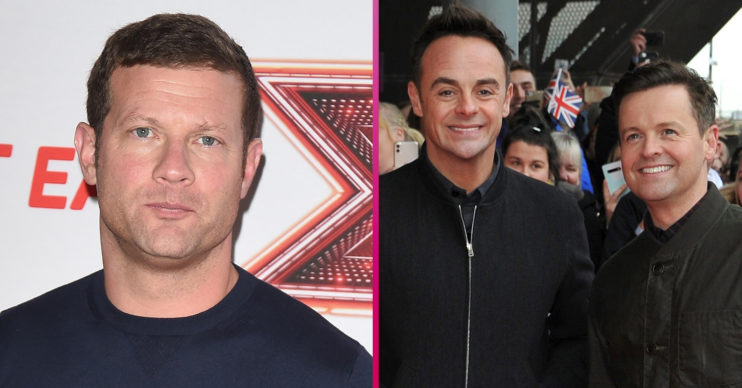 Dermot O'Leary Ant and Dec