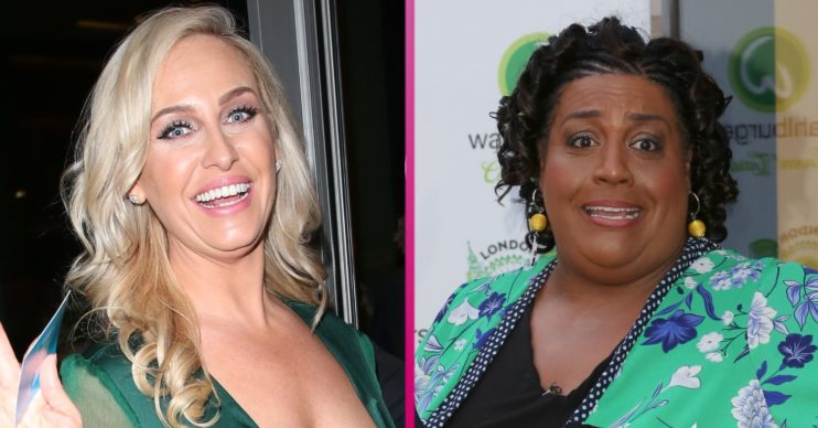 Josie Gibson and Alison Hammond