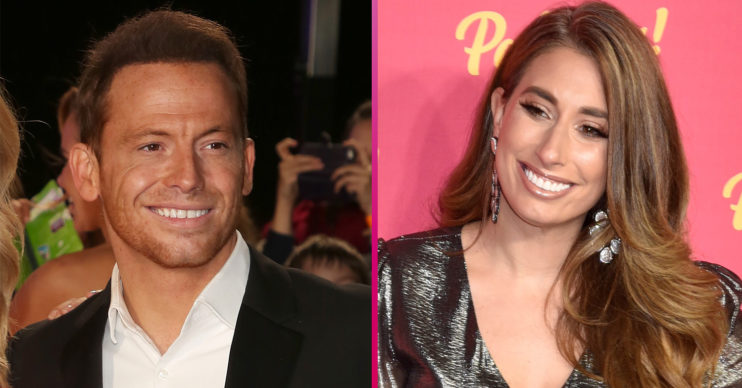 Joe Swash and Stacey Solomon