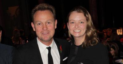 Jason Donovan with wife Angela