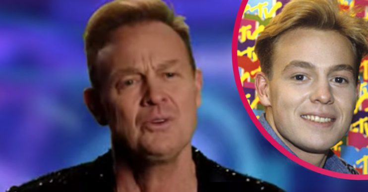 jason donovan on dancing on ice