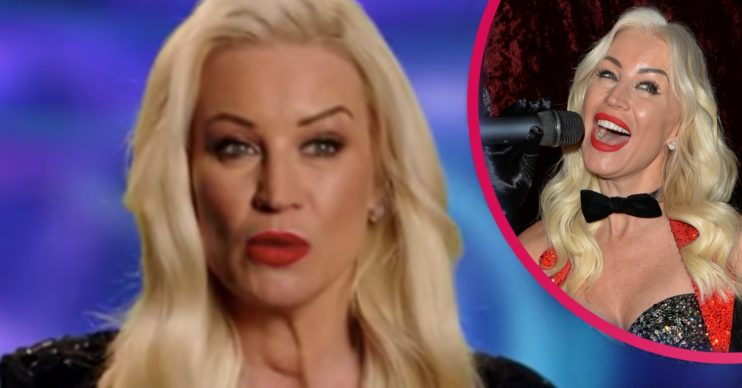 denise van outen dancing on ice 2021