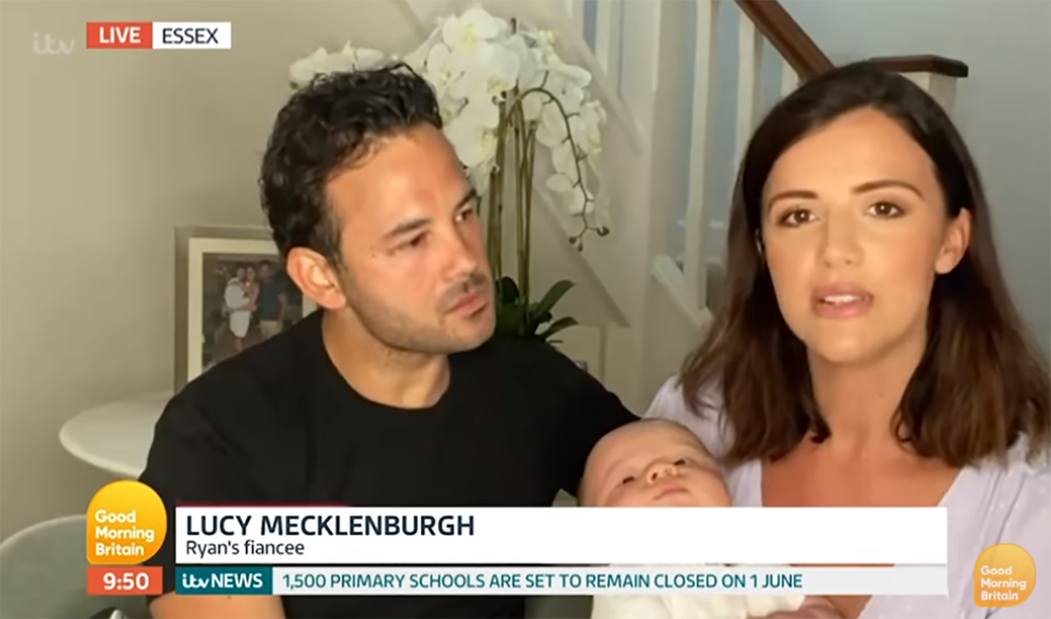 Lucy Mecklenburgh on GMB
