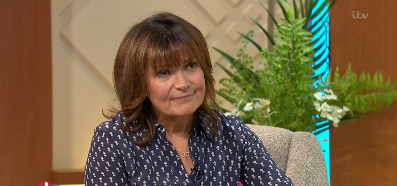 Lorraine Kelly on her show