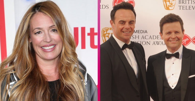 Cat Deeley and Ant and Dec