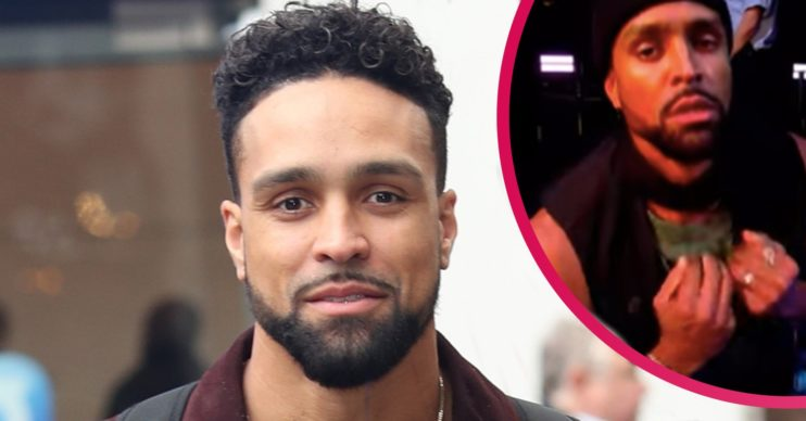 ashley banjo racist abuse