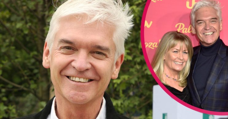 stephanie lowe phillip schofield family