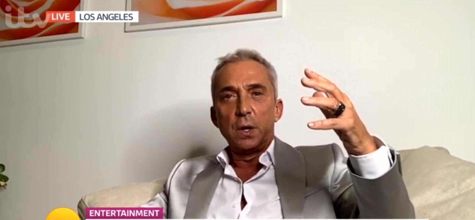 Bruno Tonioli new hair on GMB