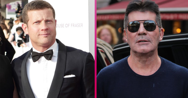 Dermot O'Leary and Simon Cowell - The x Factor