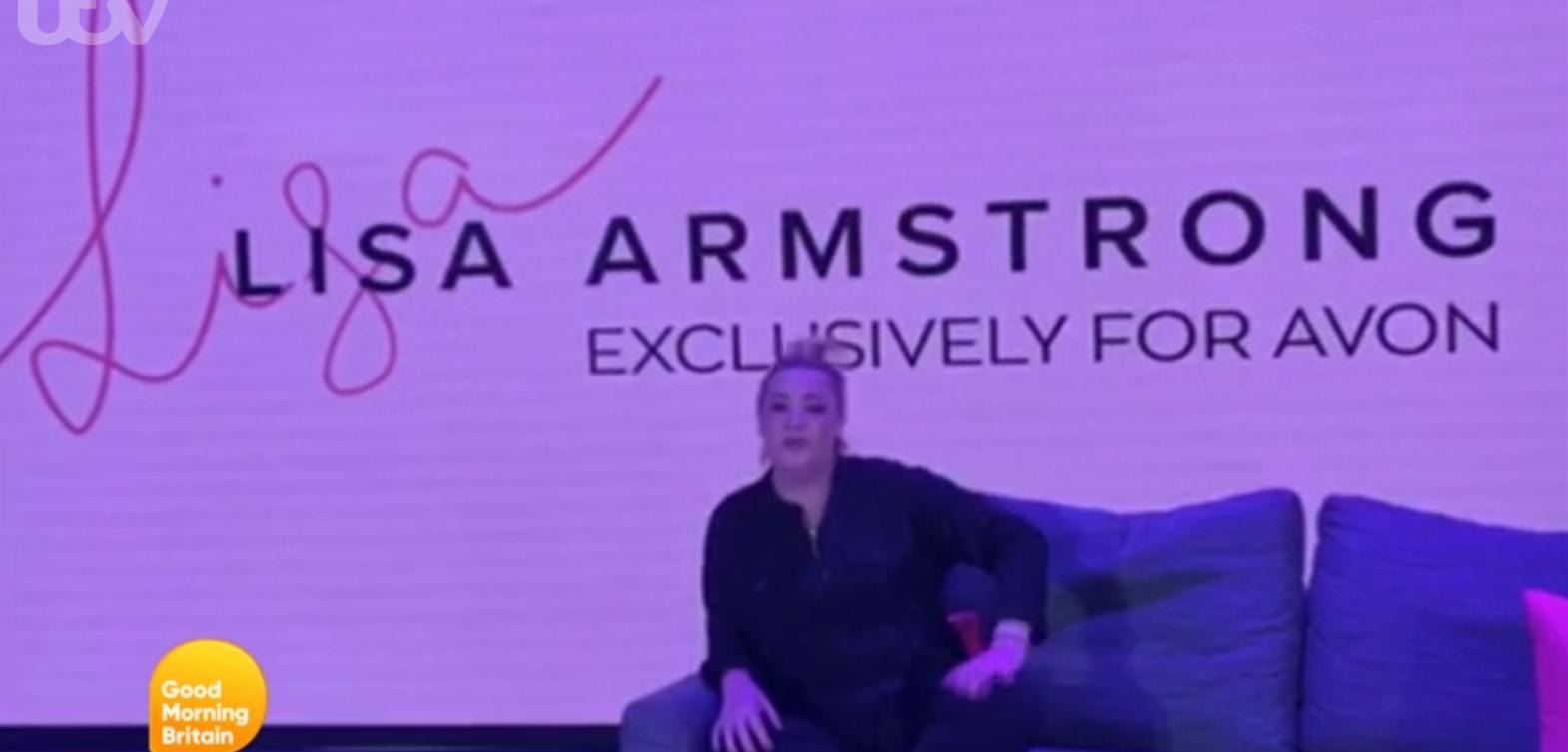 Lisa Armstrong on GMB