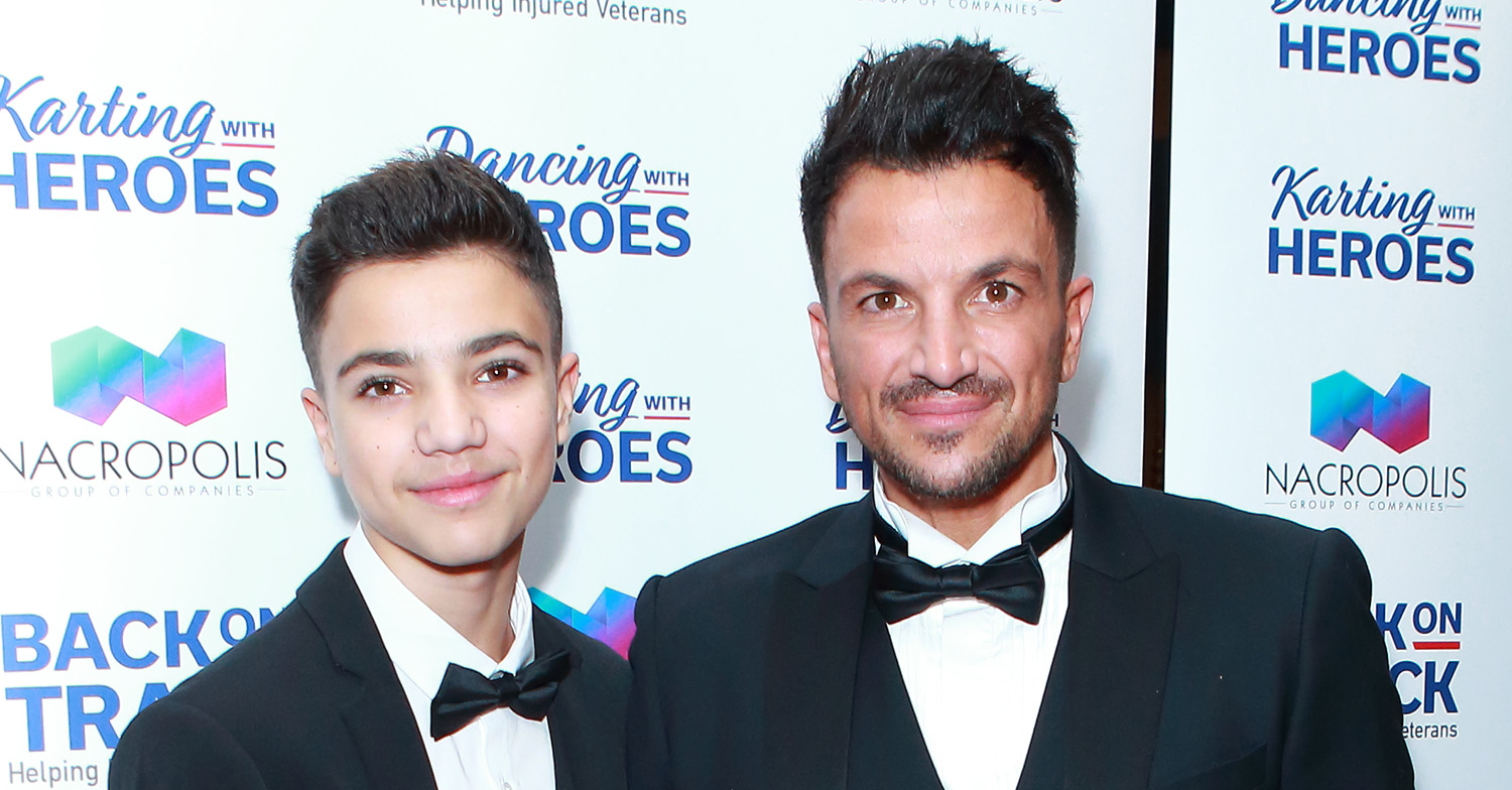 junior andre peter andre