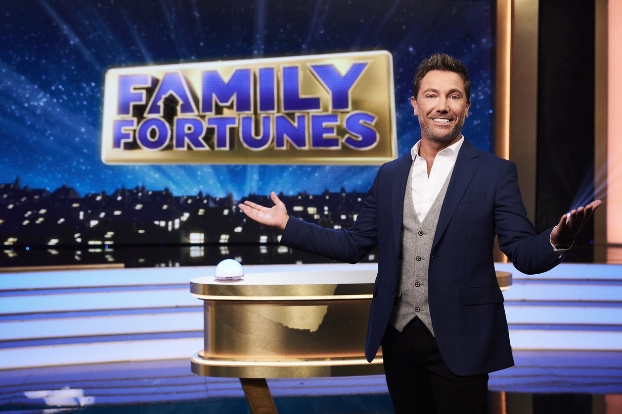 Gino D'Acampo Family Fortunes