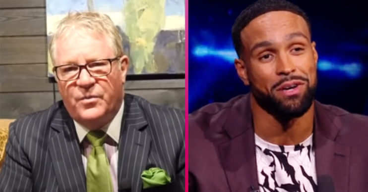 Jim Davidson and Ashley Banjo