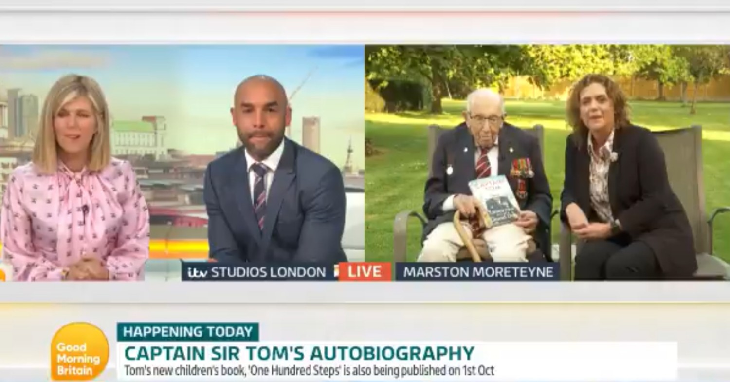 Sir Tom Moore Good Morning Britain