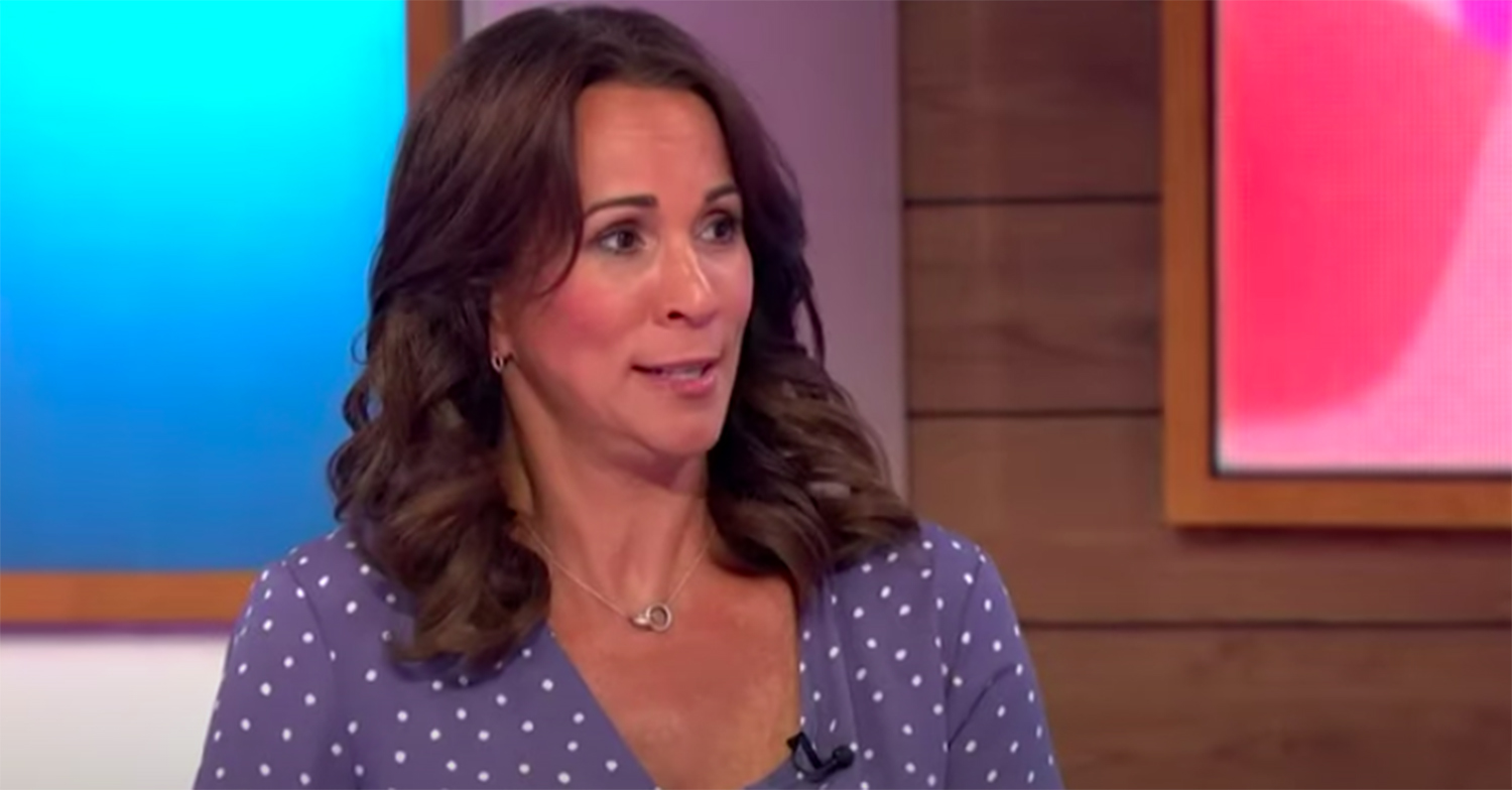 andrea mclean anxiety