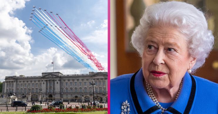 queen Buckingham palace