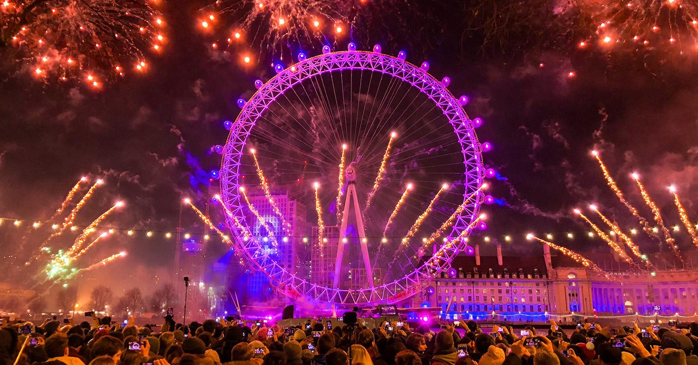 london fireworks 2020