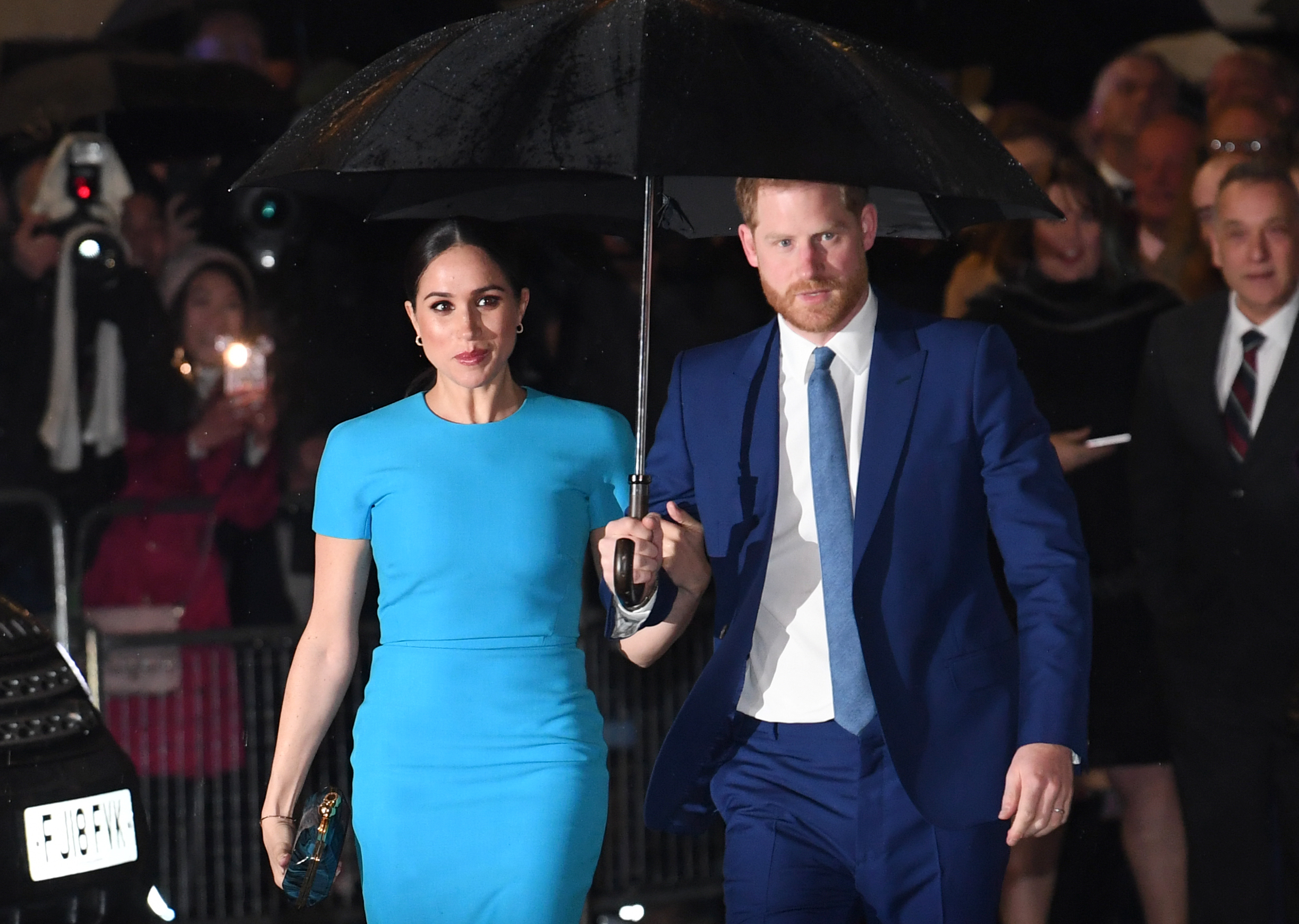 Prince Harry and Meghan Markle are set to make millions with Netflix (Credit: SplashNews)