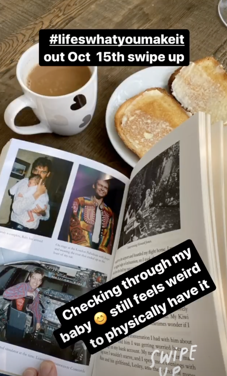 Phillip Schofield showed off candid pictures from his new book
