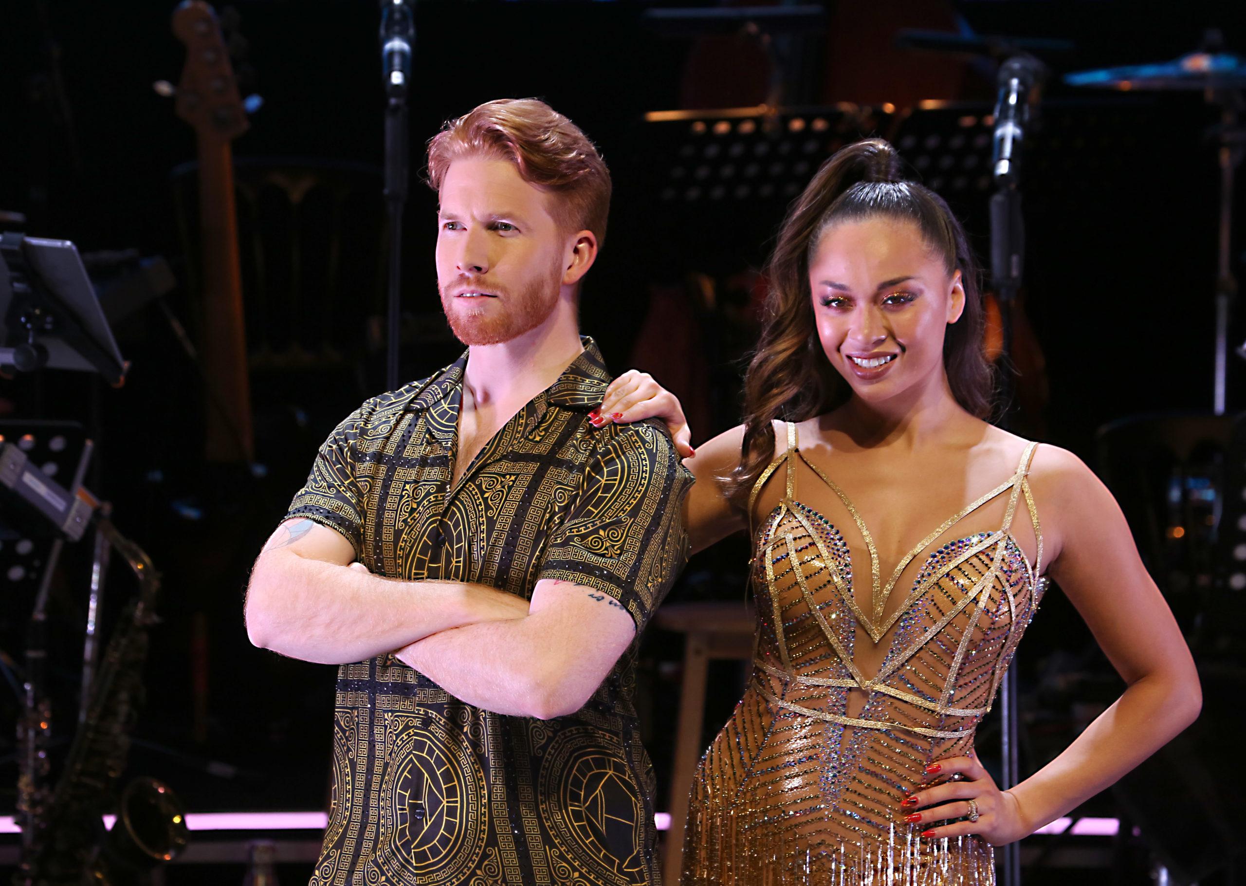 Neil Scott will watch ex wife Katya compete