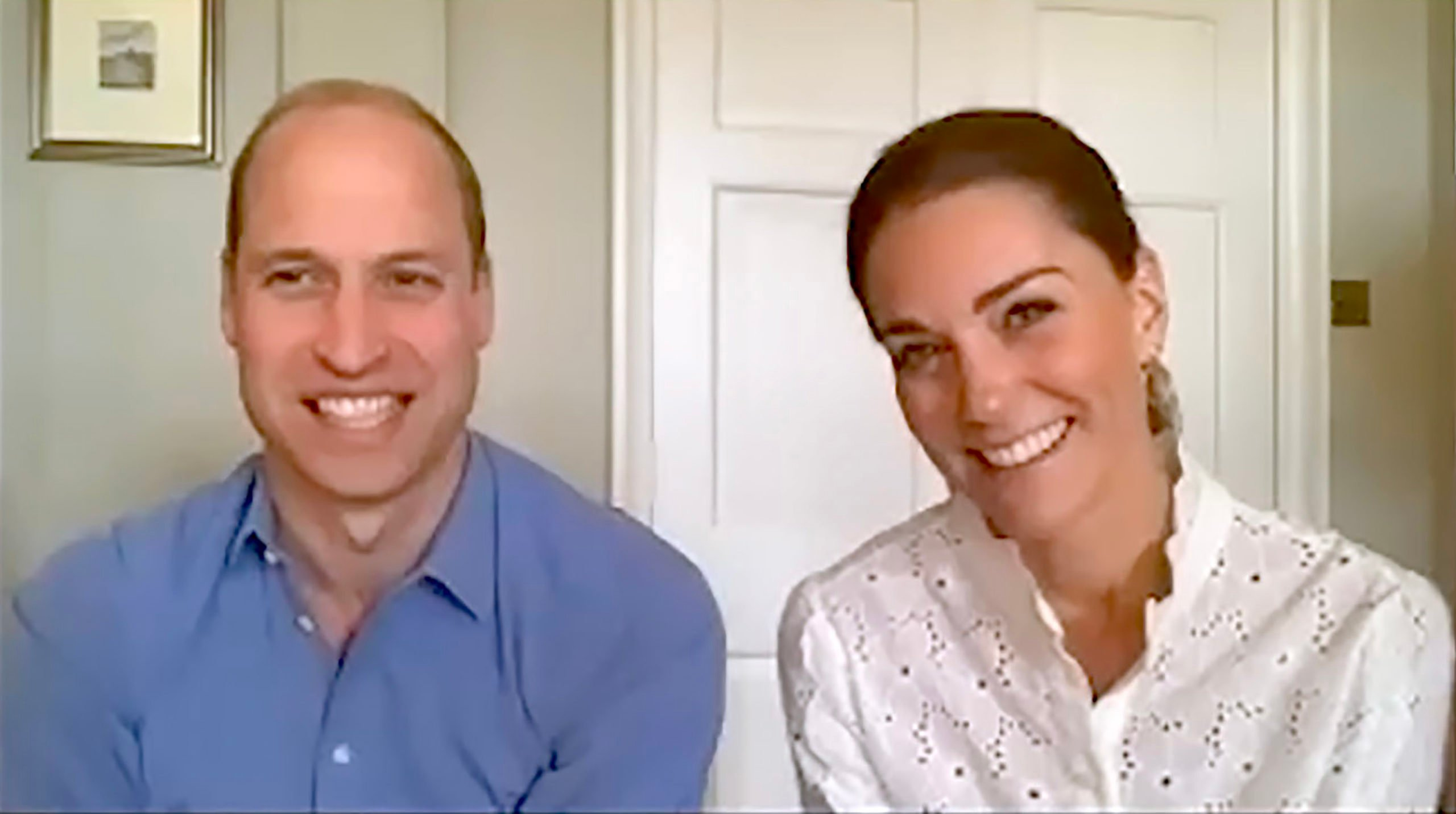Prince William and Kate were notably absent from prince Harry's birthday zoom call.