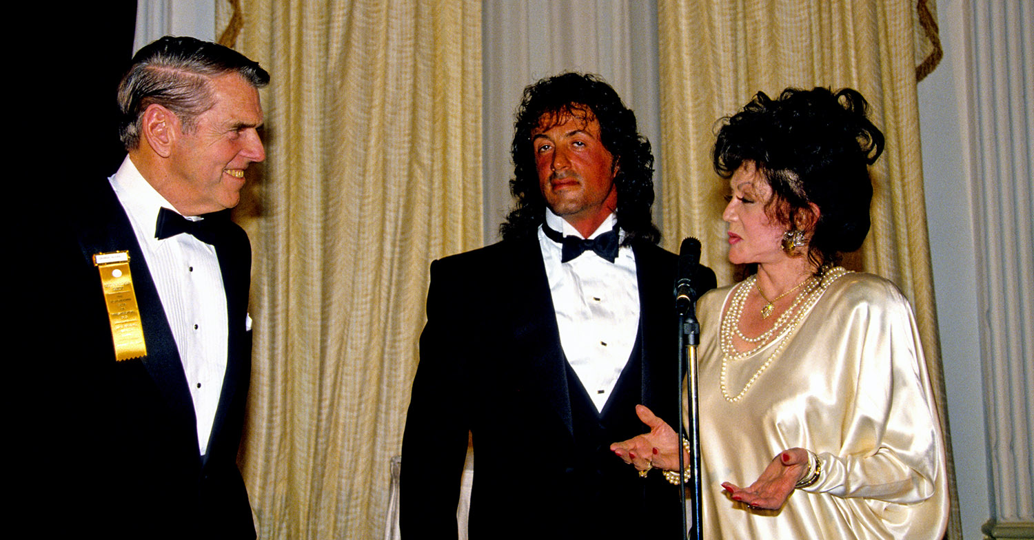 sylvester stallone jackie stallone
