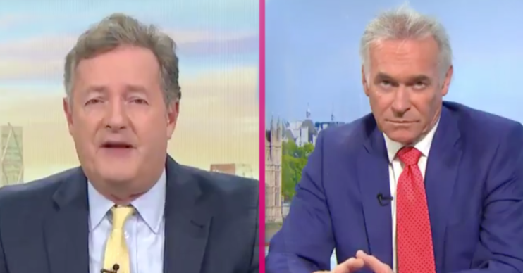 Piers Morgan Dr Hilary GMB