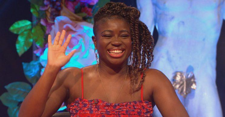 Clara Amfo on Celebrity Juice
