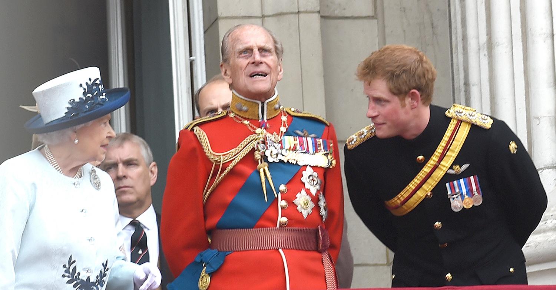 prince harry the queen photos