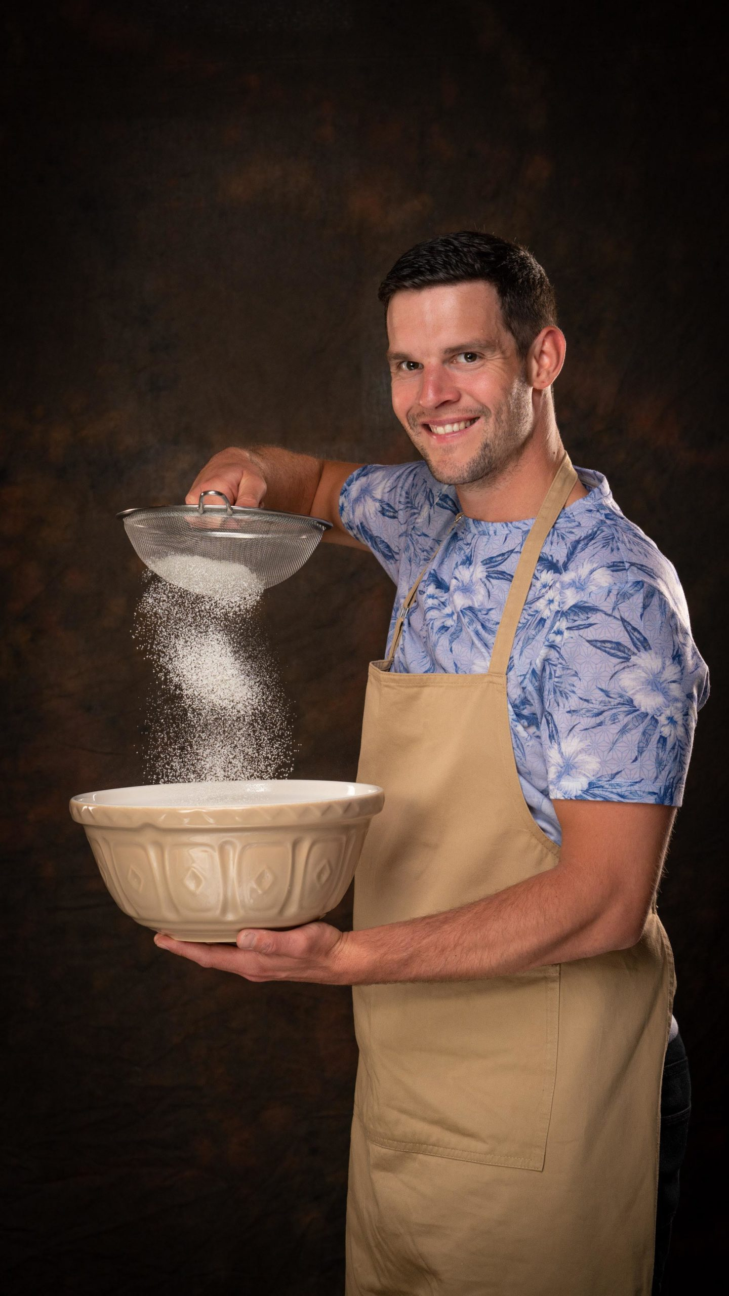 Dave is taking part in Bake Off