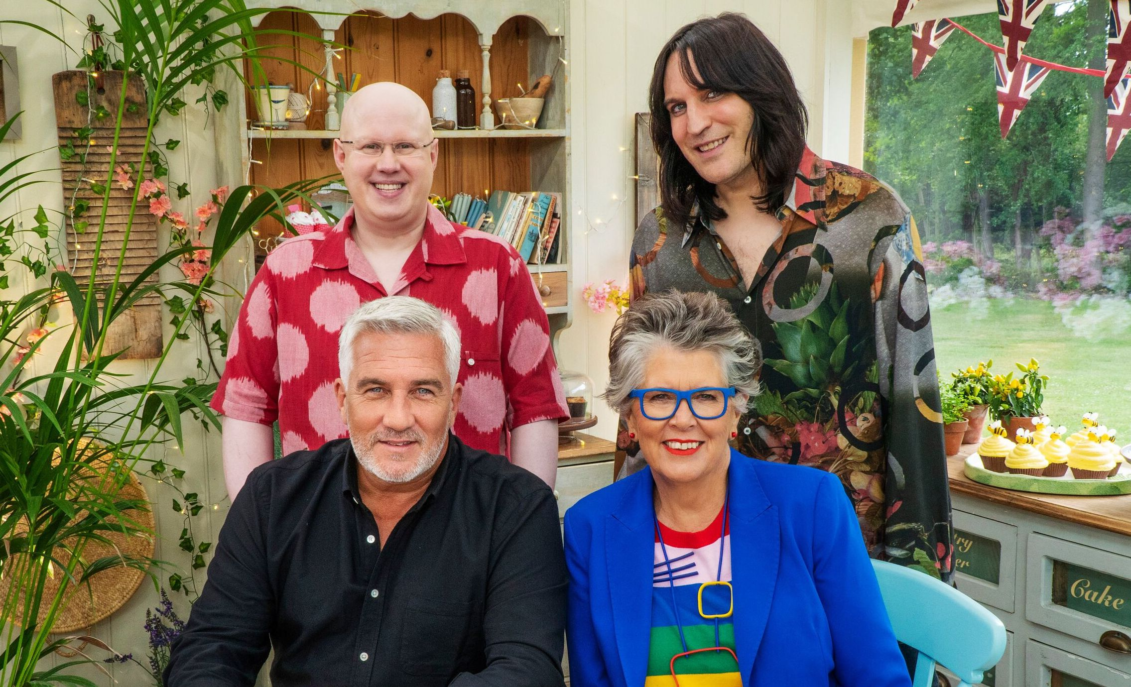 Great British Bake off judges and presenters for series 11 of Channel 4 show