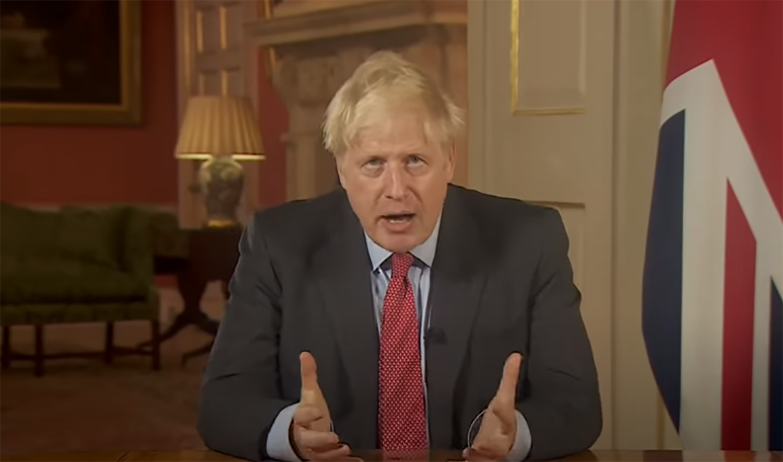 Boris Johnson national address