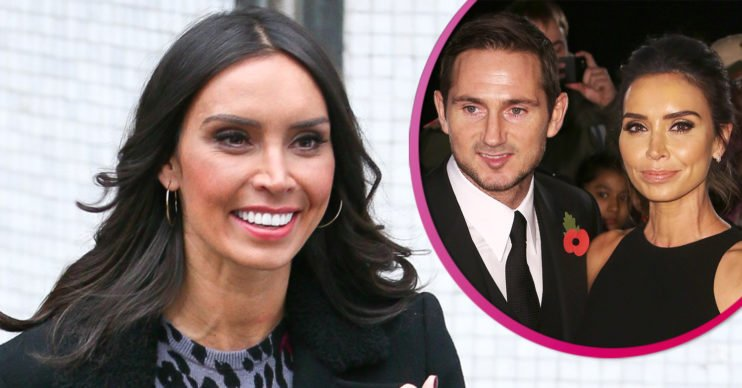 Christine Lampard and Frank - daughter