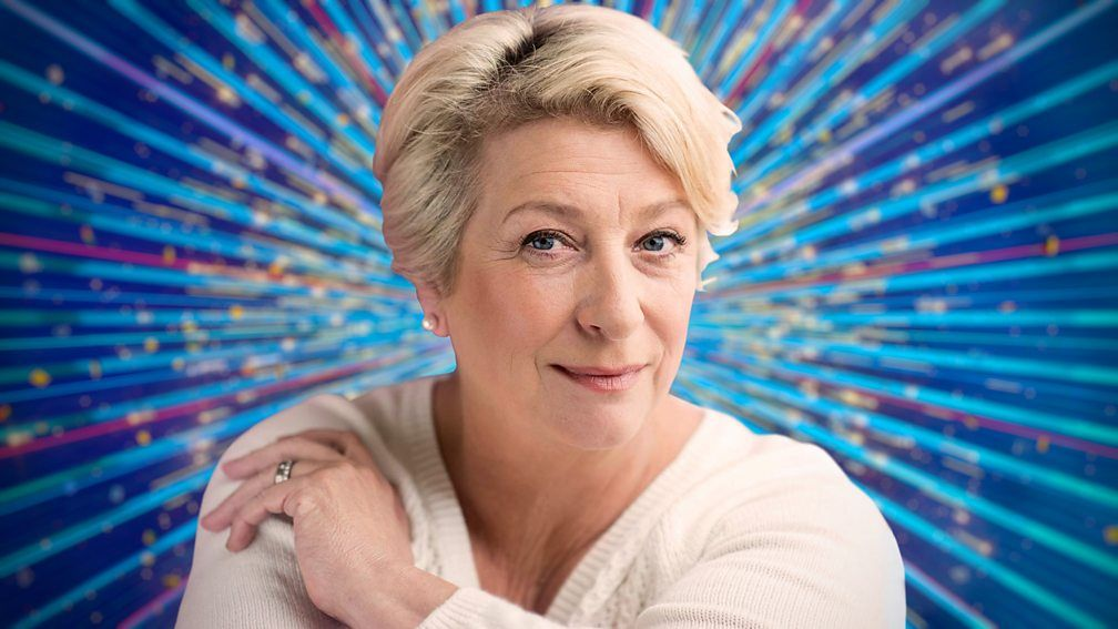 Strictly Come Dancing Caroline Quentin