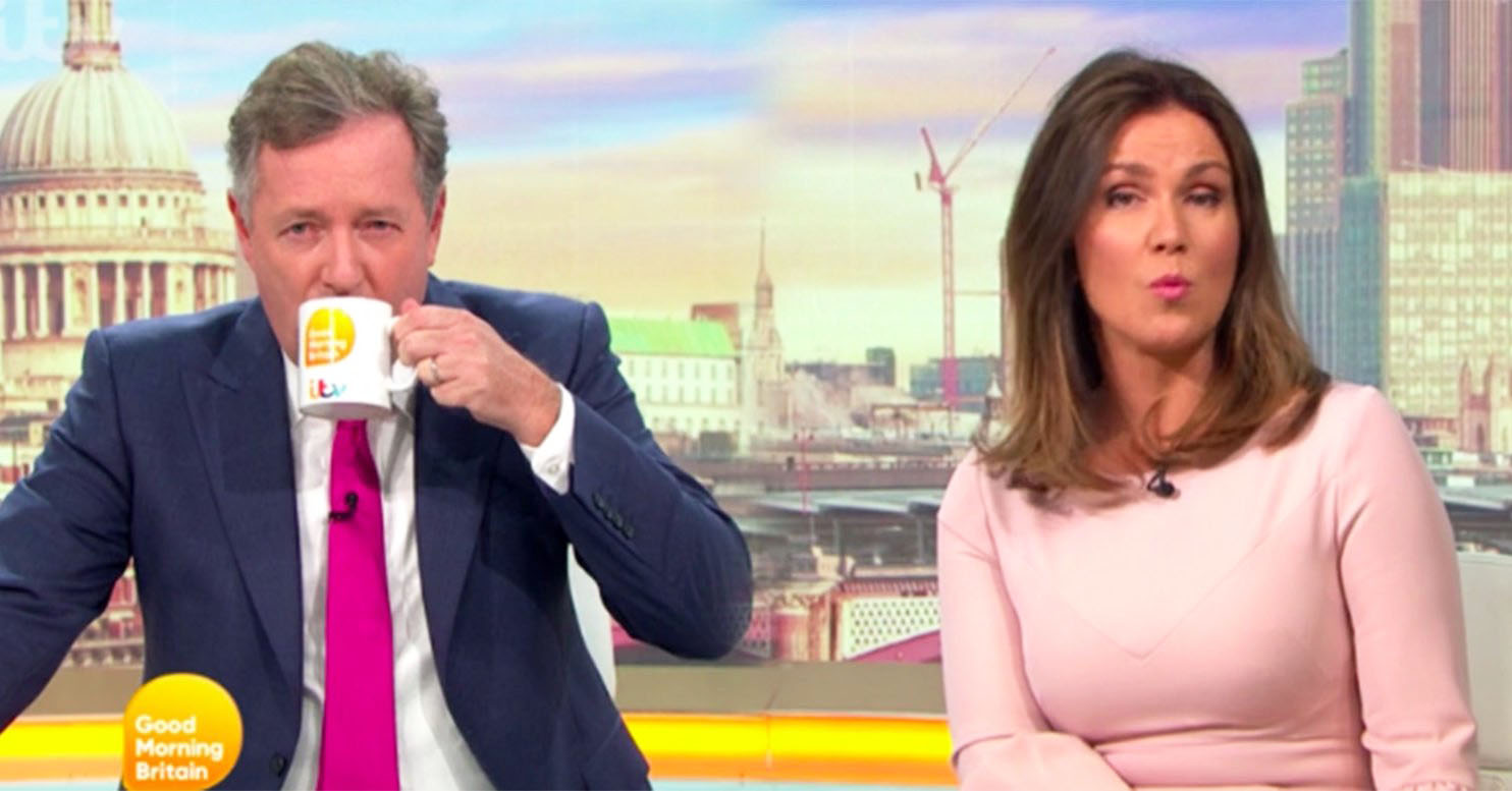 piers Morgan tea