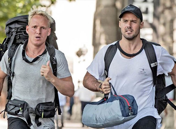 Jamie Laing and Spencer Matthews on Celebrity Hunted