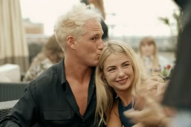 Jamie Laing on Made In Chelsea with Jess Woodley