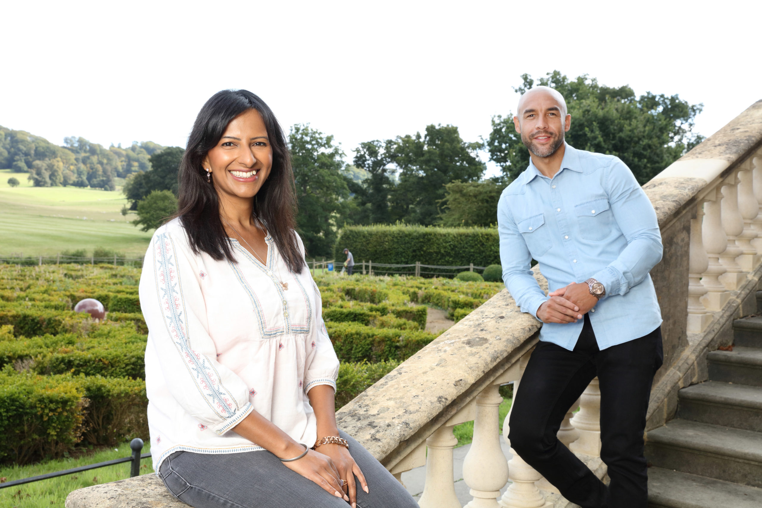 Ranvir Singh and Alex Beresford host All Around Britain