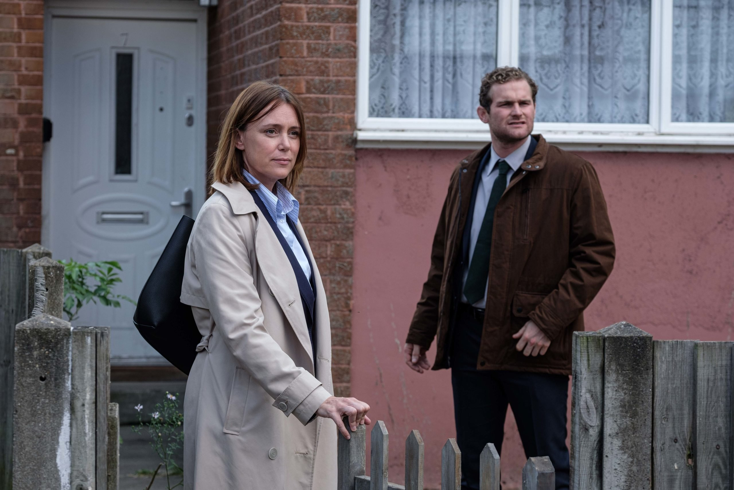 Mark Stanley and Keeley Hawes star in Honour on ITV