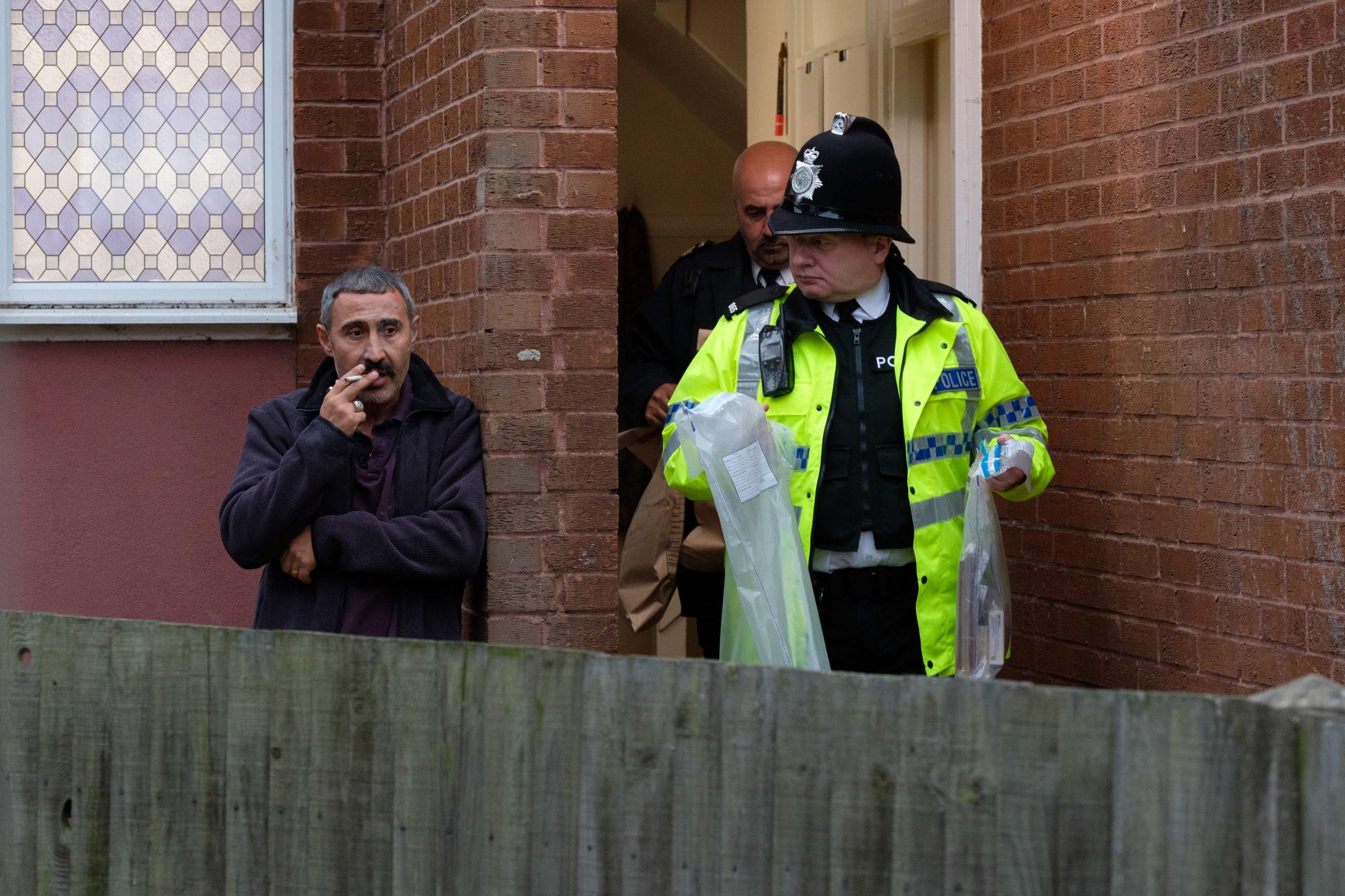 Scene from ITV's Honour