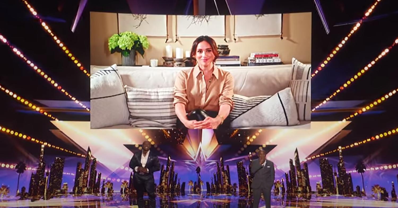 Meghan Markle on America's Got Talent