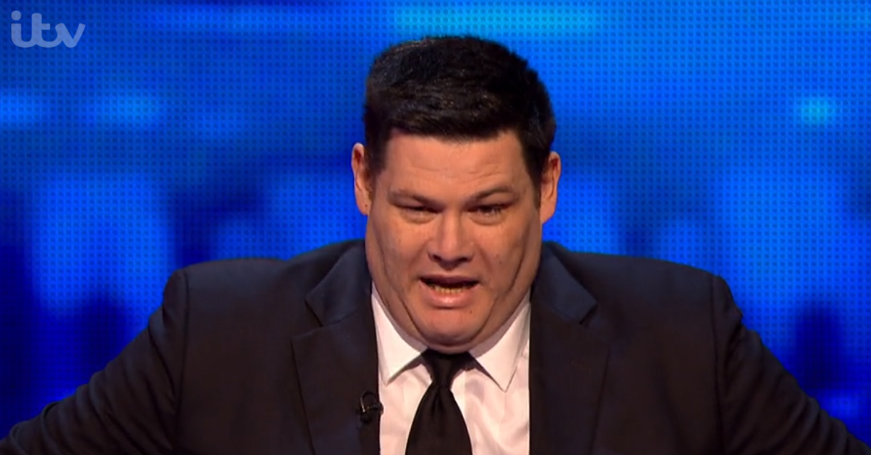 Mark Labbett beats annoying contestant on The Chase
